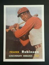 Frank Robinson Baltimore Oriole E.C.N.S.1957 Topps RP rookie Baseball Card