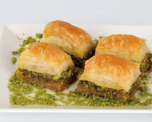 Turkish Baklava Bakery With Pistachio | Greek Baklava | Turkish Dessert