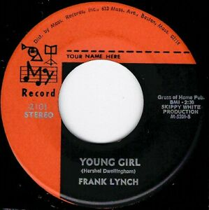 """NORTHERN SOUL -FRANK LYNCH - YOUNG GIRL - MY RECORD -"""" HEAR"""""""