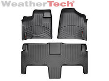 WeatherTech FloorLiner - Dodge Grand Caravan 2nd Row w/ Bucket -2008-2012-Black