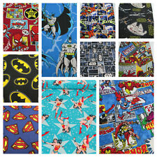 Marvel DC Comics - batman, avengers, hulk - superhero 100% cotton fabric