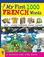 My First 1000 French Words by Martineau, Susan -Paperback