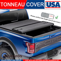 Solid Hard Tri-Fold Tonneau Cover Fits 2014-2018 Chevy Silverado 1500 5.8ft Bed
