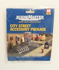 HO Scale Walthers SceneMaster 949-4121 City Street Accessory Package