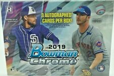 2019 Bowman Chrome Hta Choice Factory Sealed 3 Autos Tatis Jr Vlad Jr Rcs 🔥