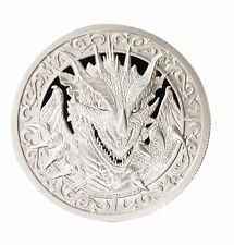 The Destiny Coin 2 - The Dragon - 2 oz .999 Silver BU Round - IN-STOCK!!!