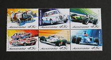 Australia 2002 Motor Racing cars New Zealand SG2175/80 MNH UM unmounted