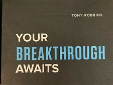 Tony Robbins UPW Unleash the Power within manual EVENT BOX