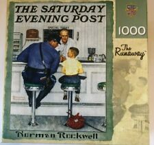 SATURDAY EVENING POST THE RUNAWAY 1000 PC PUZZLE MASTER PIECES