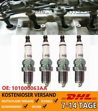 4x NGK Zündkerze Set Laser Platinum 6458 PFR6Q OE-Nr. 101000063AA 101000016AB