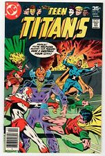 DC - TEEN TITANS #52 - FN 1977 Vintage Comic