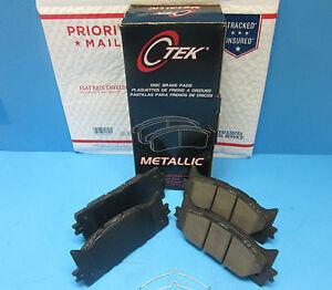 Front Disc Brake Pad Set For Toyota OEM# 0446507010 Camry Avalon ES300H ES350