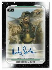 2019 Topps Star Wars Skywalker Saga Autograph Andy Secombe as Watto