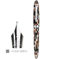 Checkerboard / PENBBS 308 Fountain Pen Medium Nib