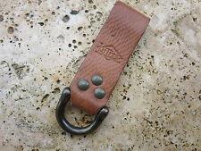 KEYRING Holder lederschaufe PORTAFOGLIO catena Wallet chain Lanyard Rockabilly #3