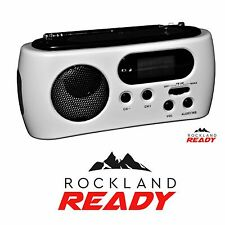 Emergency Weather Band AM/FM/NOAA Solar Crank Flashlight Radio - Rockland Ready