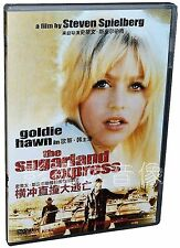 The Sugarland Express All Region DVD Goldie Hawn, Ben Johnson, Michael Sacks NEW