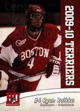 2009-10 Boston University Terriers #3 Ryan Ruikka
