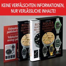 Rolex Submariner Sea-Dweller DeepSea Bücher NEUE AUSGABE 2 Bänden alle Modelle