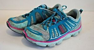 BROOKS Pure Flow teal/pink running shoes - girls, size 1