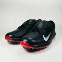 Nike TW 2017 Tiger Woods Tour Golf Shoe Black Red Mens Size 10  [880955 001]