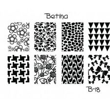 Plaque stamping BETINA B18