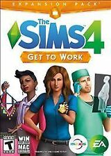 ✔Sealed The Sims 4 GET TO WORK Expansion (PC / Mac Download) Physical Delivery!