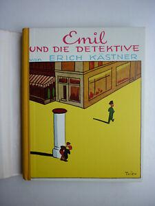 Emil und die Detektive - Erich Kästner - gebundene Ausgabe 1960er Jahre