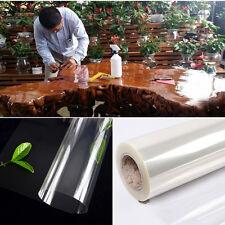 98'' Clear Fire Resistant Contact Paper Transparent Adhesive Vinyl Peel Stick