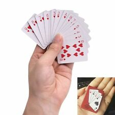 Board Game Foil Plated Waterproof Playing Cards Set Mini Poker Card Plastic