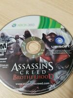 Assassin's Creed: Brotherhood - Xbox 360 - Disc Only - Tested - Fast Free Ship!