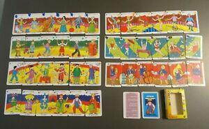 JEU DE 7 FAMILLES puzzle CIRQUE  BE 2000 GRIMAUD