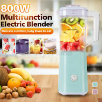 Portable 2 In 1 Blender Smoothie Food Processor Mixer Kitchen Juicer Ice Crush
