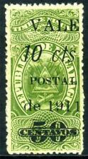 Nicaragua 1911 Fiscal Issues 10¢/50¢ Mint Variety P240 ⭐⭐⭐⭐⭐