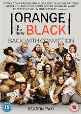 Orange Is The New Black Complete Series 2 DVD All Episodes Second Season UK R2
