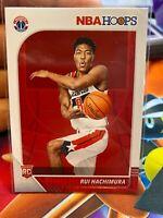 Rui Hachimura 2019-20 Panini NBA Hoops Rookie Card #206 Washington Wizards NBA