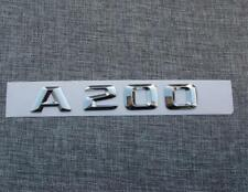 A200 A 200 Trunk Emblem Badge logo Mercedes Sticker MB embleem emblème du tronc