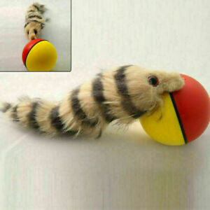 New Funny Activation Ball Dog Cat Weasel Jumping Moving Rolling Pet Toy AU