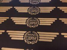 Rover Mini Cooper Rocker Box Sticker - Black & Gold Limited Edition Sticker