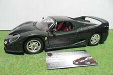 FERRARI F50 Berlinetta Hard Top 1995 vert 1/18 MIRA voiture miniature collection