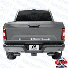 2018 Ford F150 Tailgate Insert Letters Decals  Raised  Letters Chrome