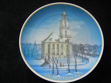Rosenthal Piatto Natale 1993 Potsdam Chiesa Del Garrison (mio Articolo 1993-3)