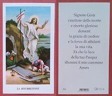 Santino Holy Card: La Risurrezione - Ed. EGIM 205