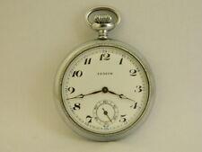 orologio da tasca funziona  ZENITH  pocket watch working C525