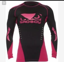 NWT Women's Bad Boy Sphere LS Jui Jitsu Rashguard XS Available
