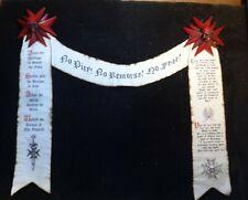 Black Templar Crusader banner Purity Seal