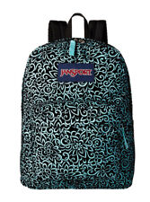 JanSport High Stakes Aqua Dash Water Backpack ( JS00TRS70DN ) -NWT
