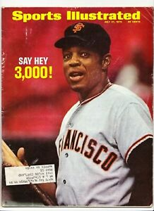 Sports Illustrated WILLIE MAYS San Francisco Giants 7/27/1970
