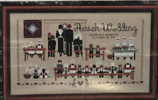 Cross stitch chart - Amish Wedding - Told In A Garden.