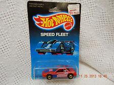 HOT WHEELS-GENERAL MOTORS FIERO 2M4-#1458-SPEED FLEET SERIES-1988-AS IS!